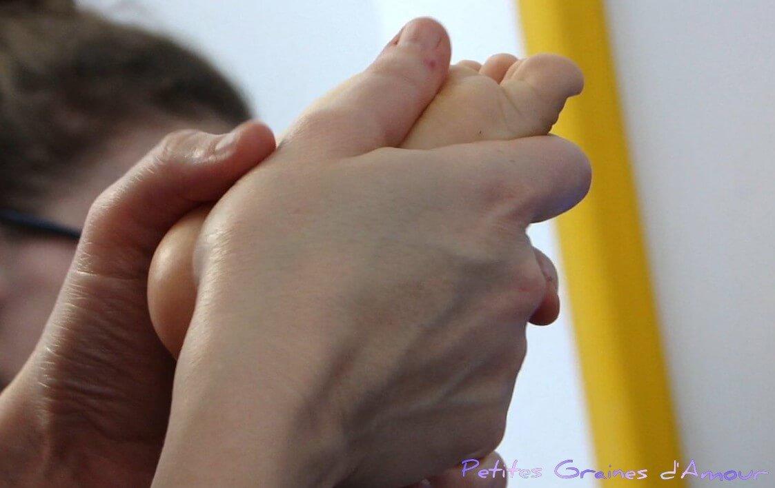 atelier massage parent-bébé